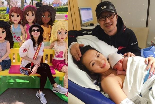 章子怡傳與汪峰再造人成功,她最新上載的照片可見刻意用手遮肚。
