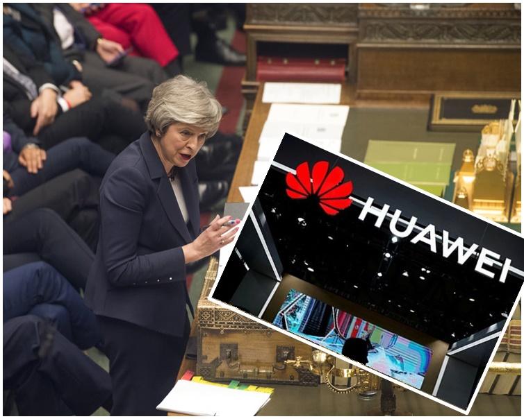 文翠珊上周宣布批准華為參與英國的5G通訊網絡建設。