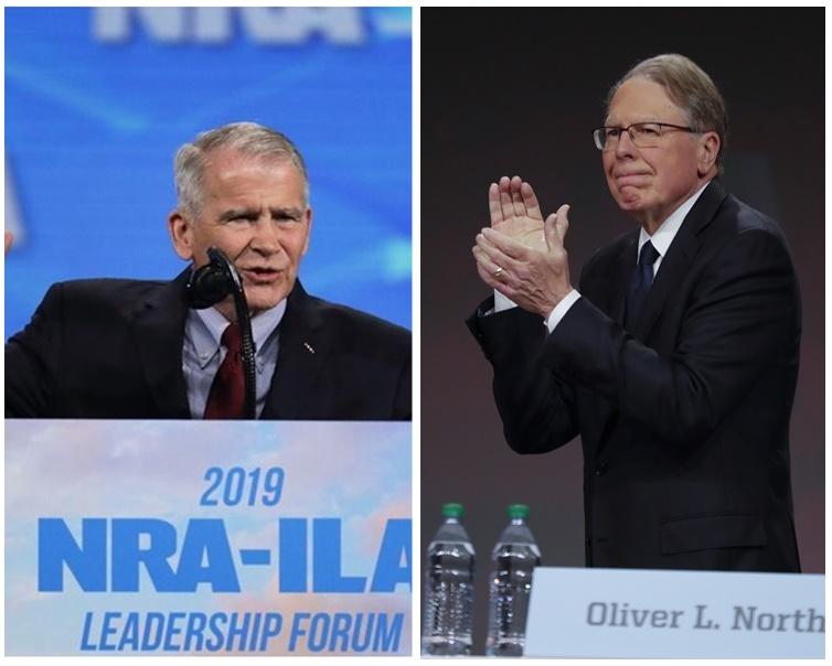 消息指诺思(左)是被拉皮埃尔(右)迫走的。