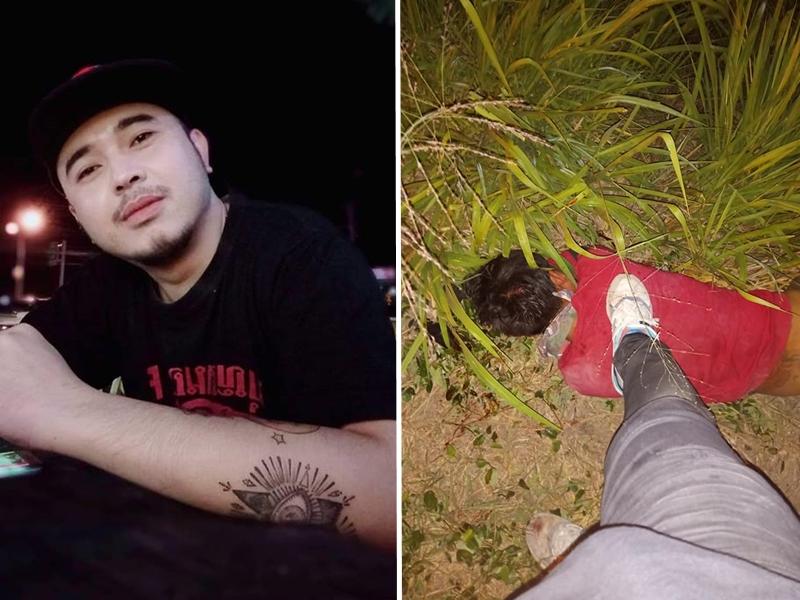男子将色狼打致头破血流,并脱下对方的裤子拍半裸照,更将照片上载至Facebook。 网上图片