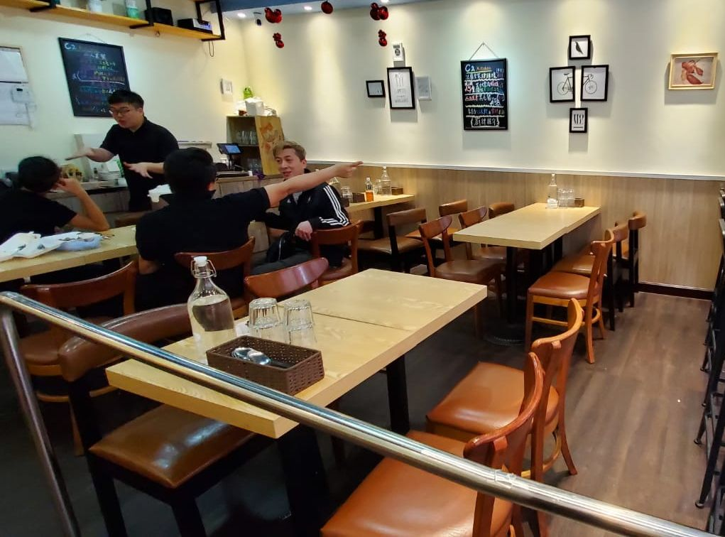 餐廳今早如常營業。