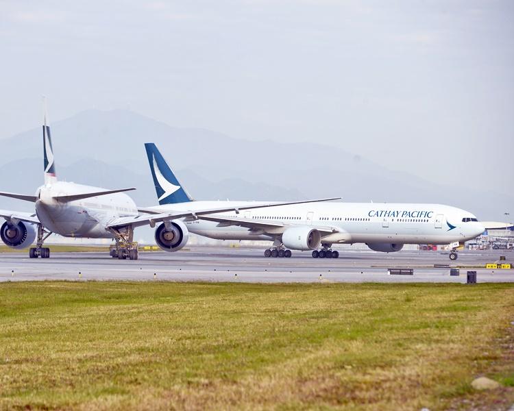 國泰航空。資料圖片