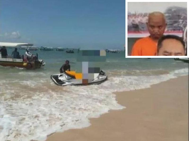 涉案水上電單車教練事後被警方拘捕。(網圖)
