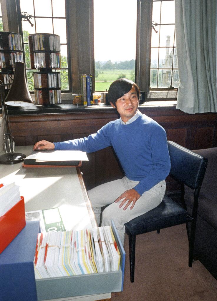 友人指德仁雖然貴為皇太子,但私下對每位同學都非常真誠 。   AP圖片