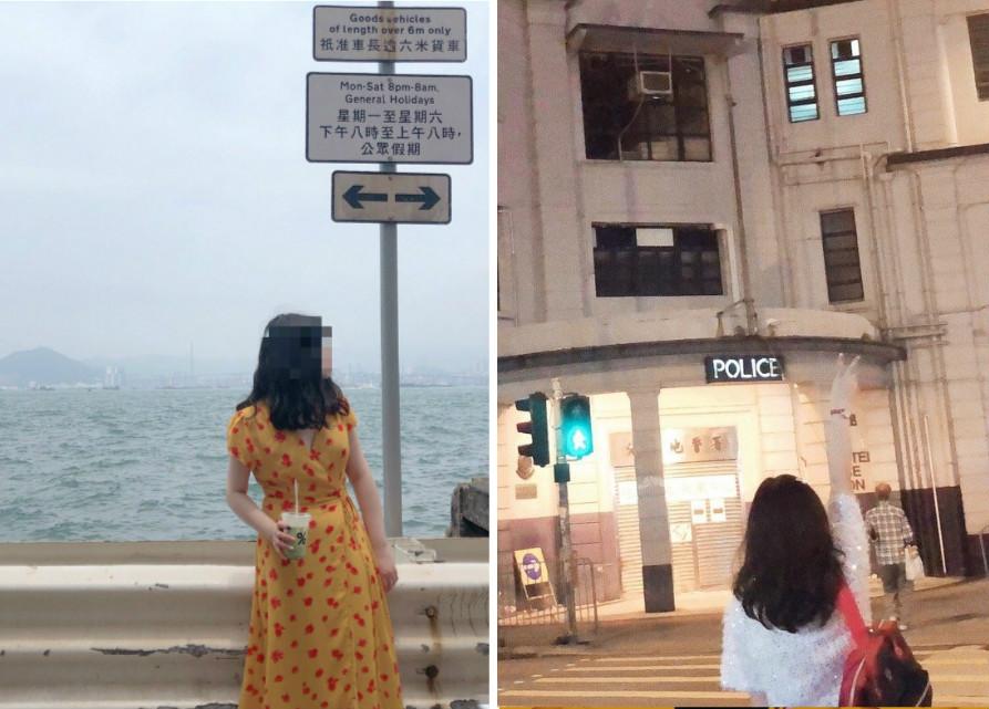 內地訪港旅客往其他「打卡聖地」遊覽。網上圖片