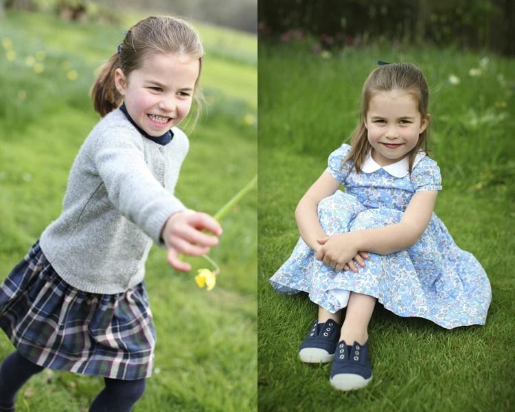 这几幅照片都是由母亲凯特操刀。