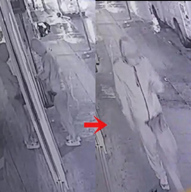 獨行賊於凌晨,拉開趟門進入玄關,再用工具打爆玻璃門潛入搜掠。