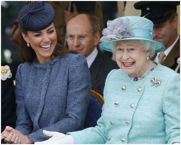 英女王重视凯特,有可能成为未来女王。