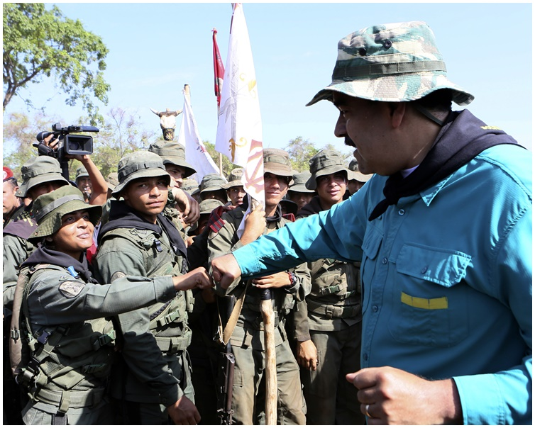 马杜罗要求陆军将领和海军将领对他主动效忠。