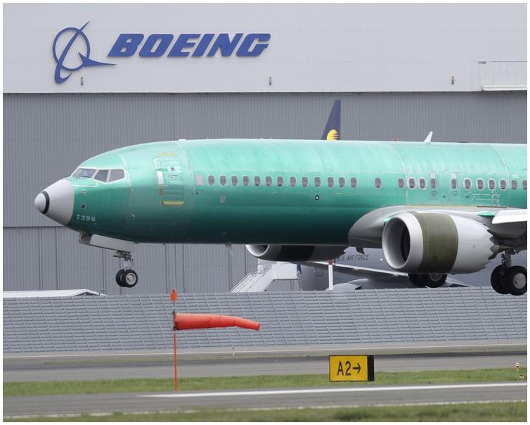 波音737 MAX客机。