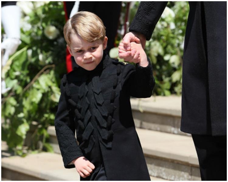 大仔喬治王子。AP