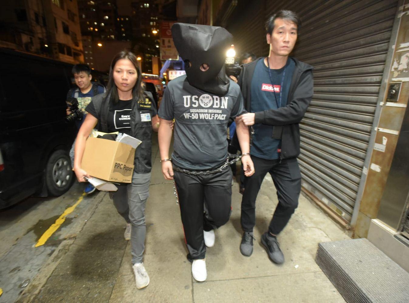 警方經深入調查後,拘捕一名25歲男子。