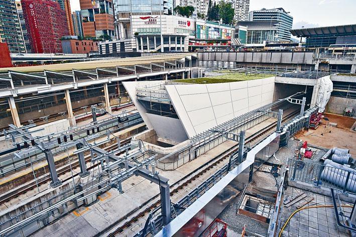 沙中線紅磡站擴建工程調查委員會擴大調查範圍後今日再召開初步聆訊。 資料圖片