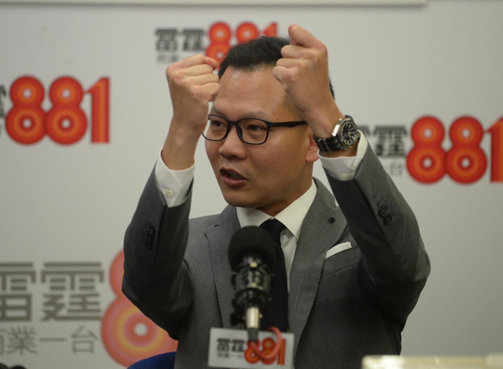郭榮鏗表示,將於今日內提出對立法會秘書長陳維安失職失責的追究事項。