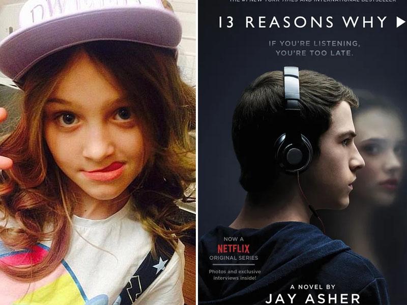 女孩看Netflix《13个理由》后自杀,母亲呼吁禁播。(网图)
