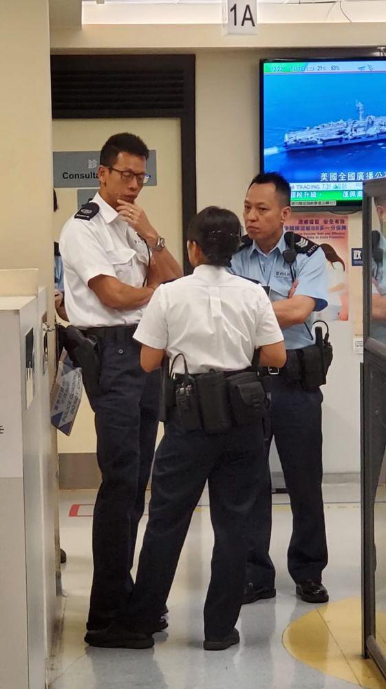 警方正调查事件。杨伟亨摄