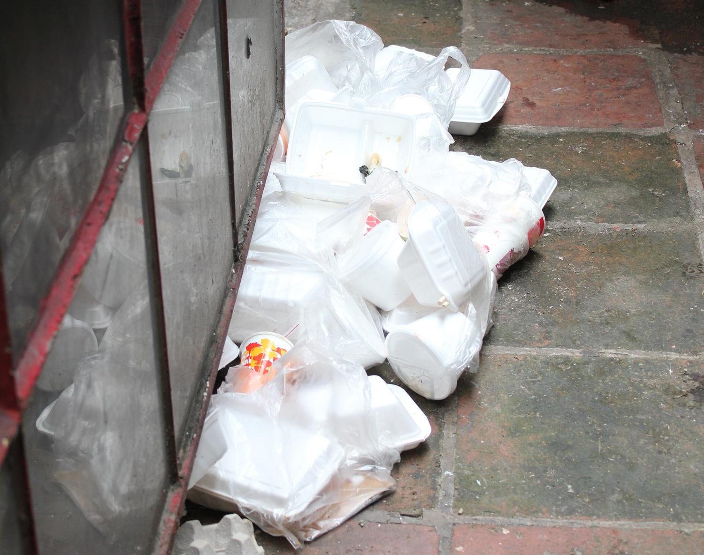 本港发泡胶废物弃置量惊人。 资料图片