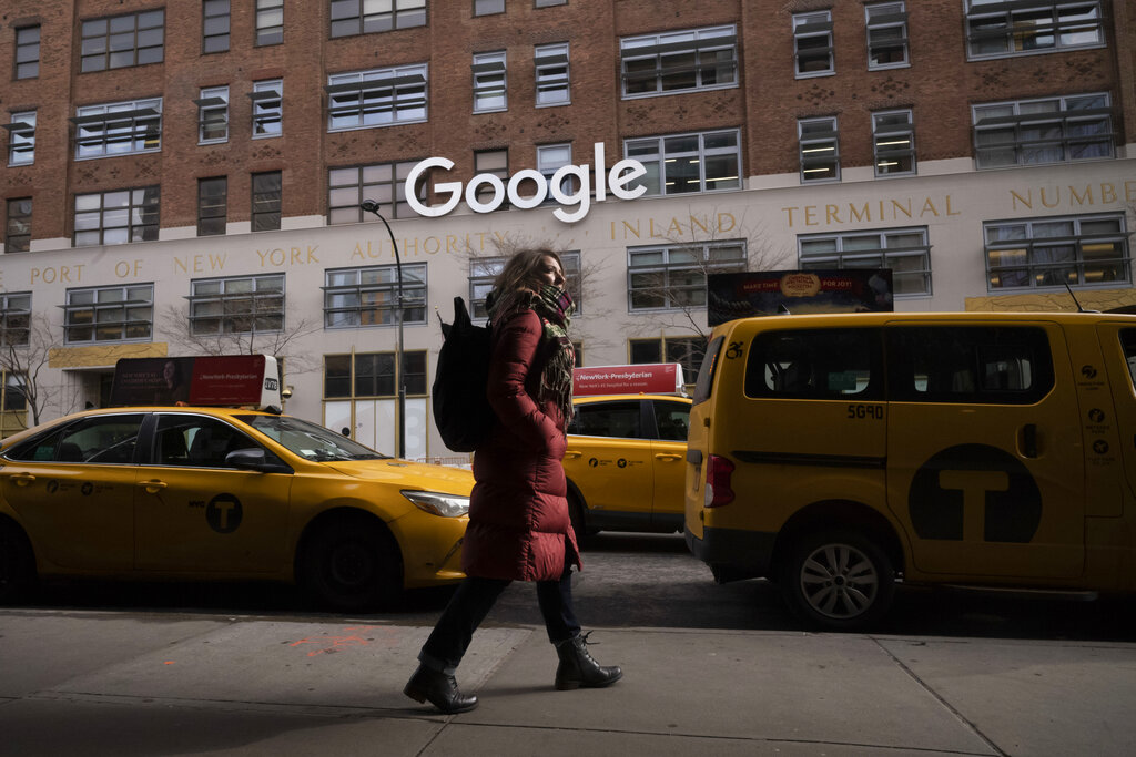 美国Google集团的母公司Alphabet Inc.周二宣布,在未来数月内推出一系列新工具,加强保障用户私隐。 AP图片