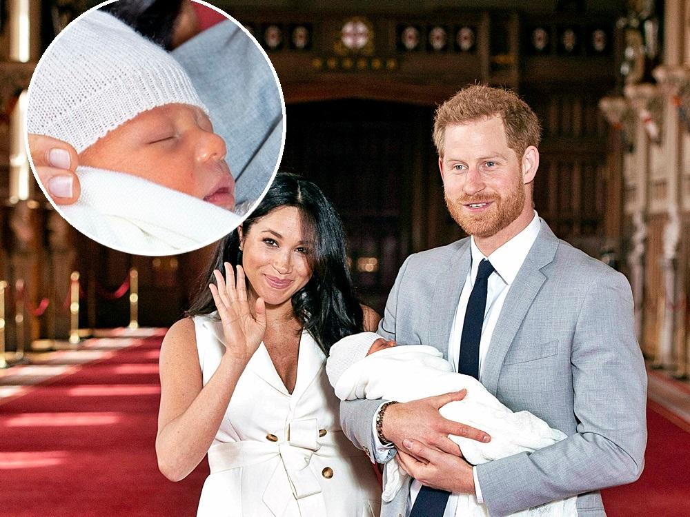 哈里王子与夫人梅根喜迎麟儿后,首次一同公开亮相。 图片