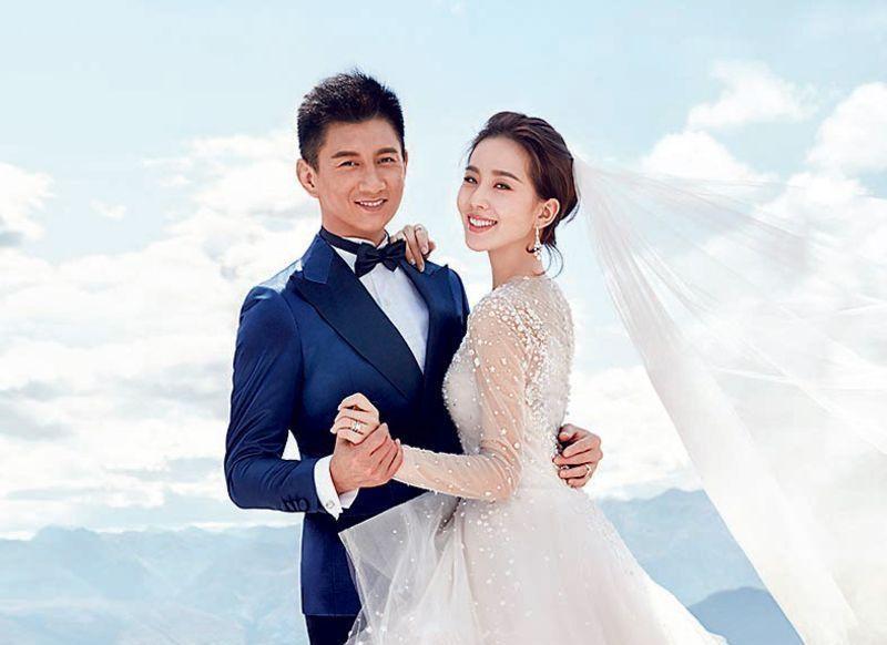 吳奇隆與劉詩詩2015年結婚,兒子上月出生。資料圖片