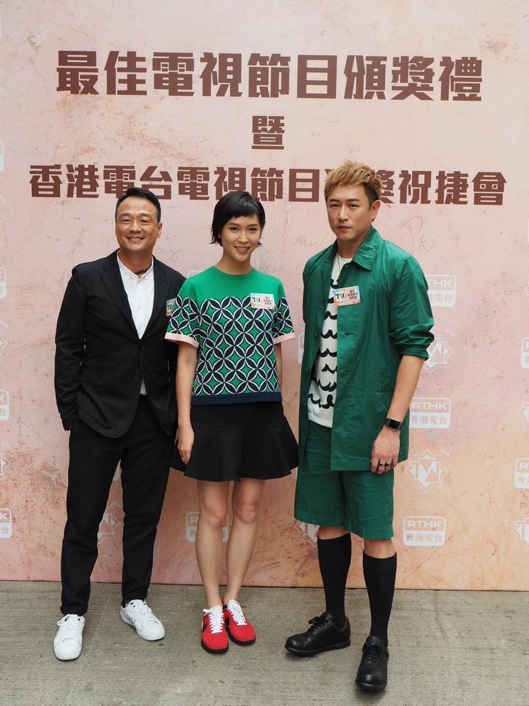 王喜、陳鍵鋒、蔣祖曼出席港台最佳節目頒獎禮