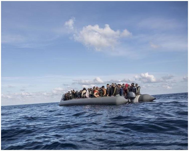许多偷渡者都以利比亚为中转站横跨地中海偷渡至欧洲国家。资料图片