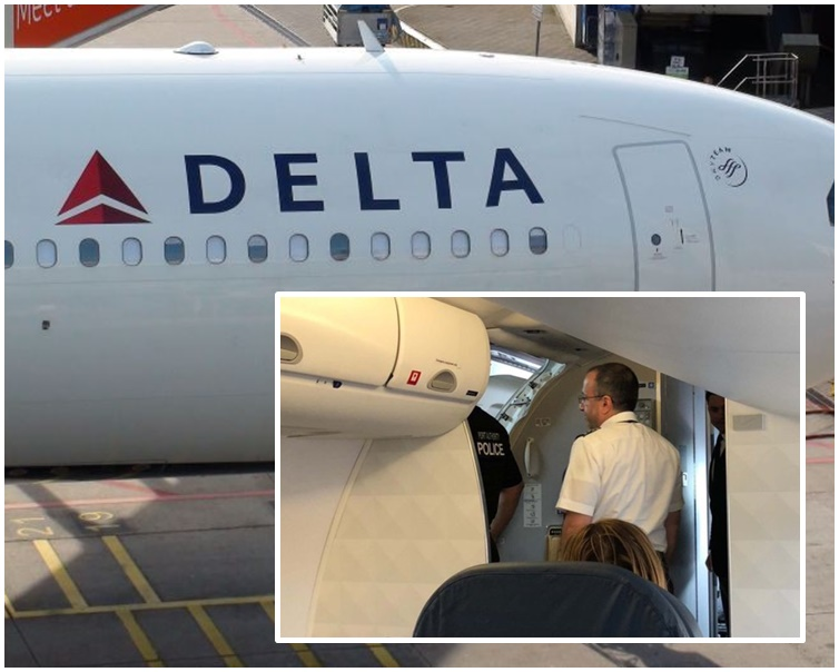 最后飞机安全降落。网图