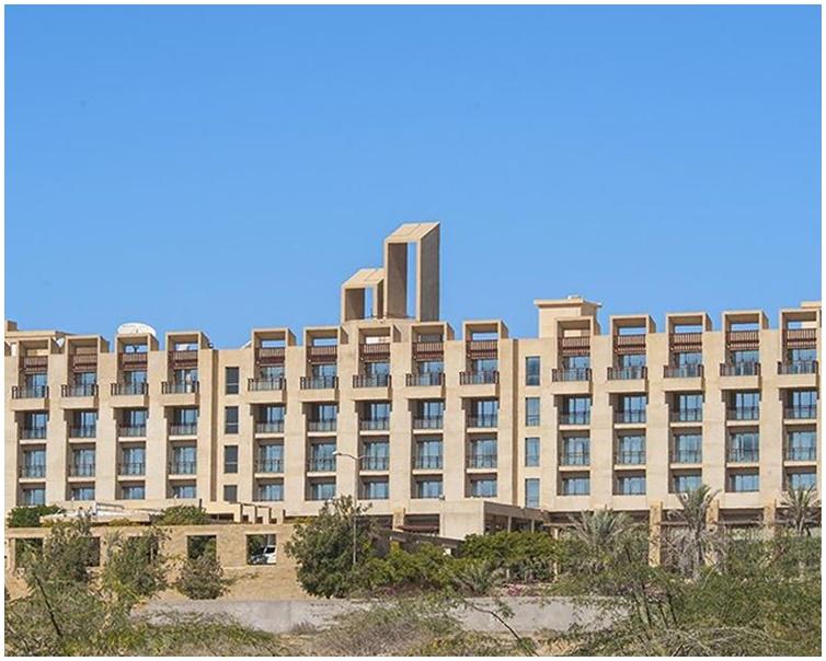 遇袭酒的五星级酒店位于巴基斯坦南部俾路支省瓜达尔。网图