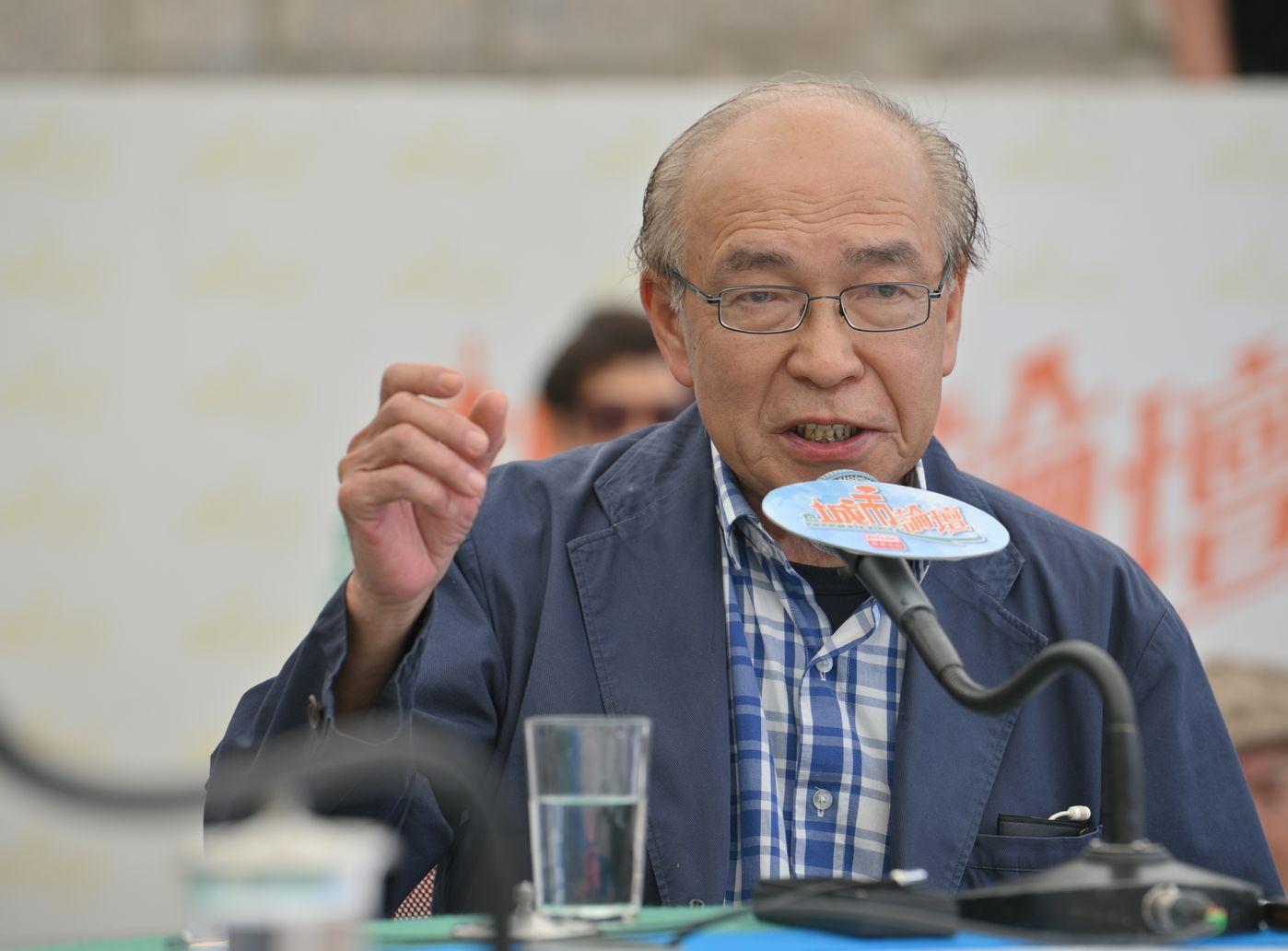 黃宏發指,即使政府撤回修例亦不代表認輸。