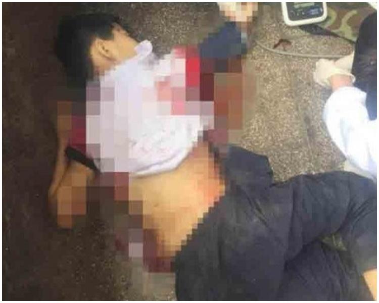 遇害男童父親反指殺人家長有暴力傾向。網圖