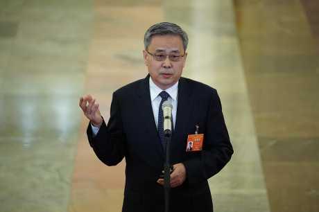 銀保監會主席郭樹清。資料圖片