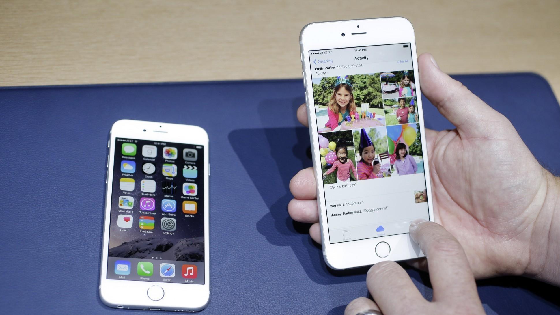 传将推出iOS13不支援iPhone 6。Ap图片