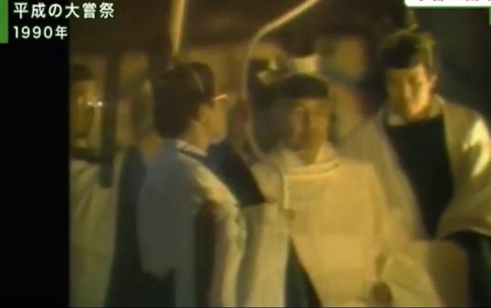 日本相隔29年再举行大尝祭。网上图片