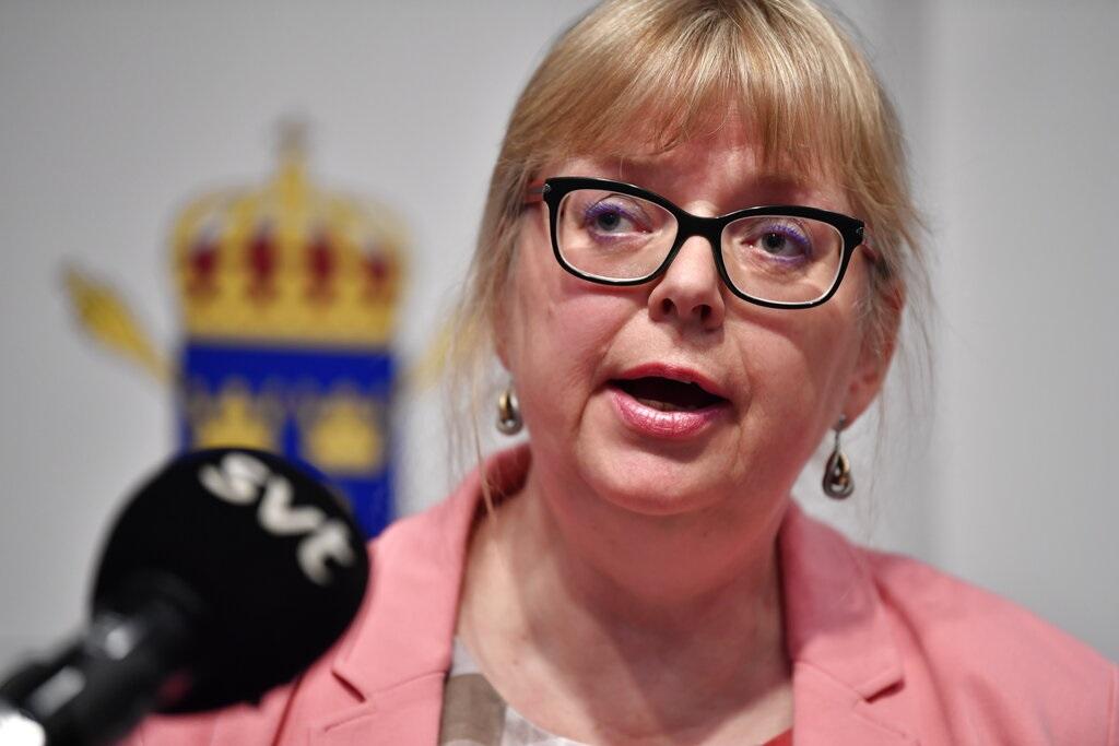 瑞典公共事务副检察长佩尔松。AP图片