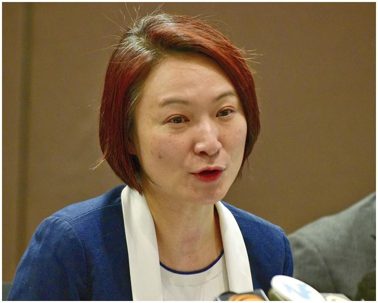 李慧琼呼籲建制泛民多溝通。資料圖片