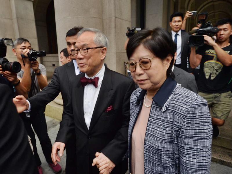 被裁定公職人員行為失當的前行政長官曾蔭權,今向終審法院提出終極上訴。