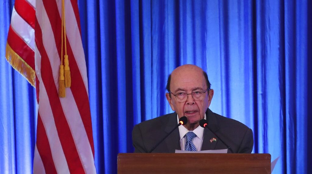 美国商务部长罗斯。