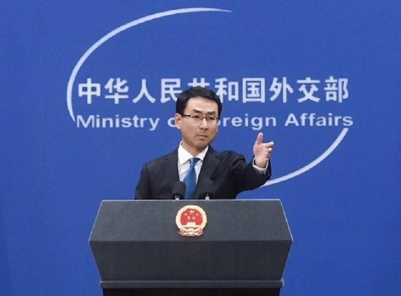 外交部指中國絕不怕打貿易戰。新華社圖片