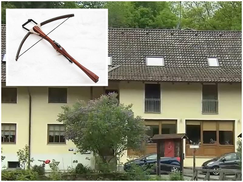 德国5尸离奇命案 死者中十字弓箭亡