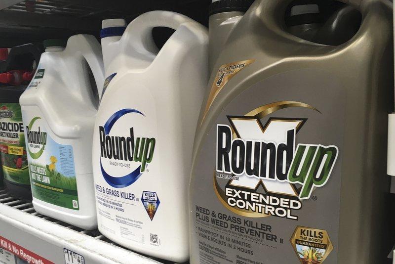 孟山都生產的除草劑被指致癌。AP圖片