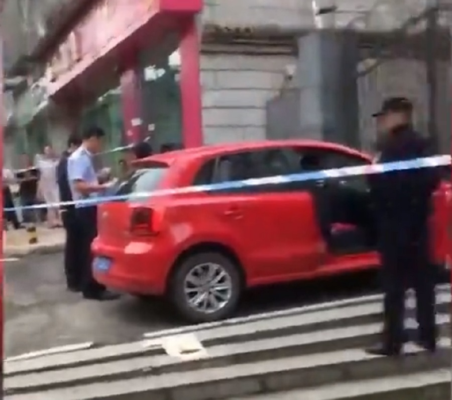 四川資陽發生綁架劫案。網上圖片