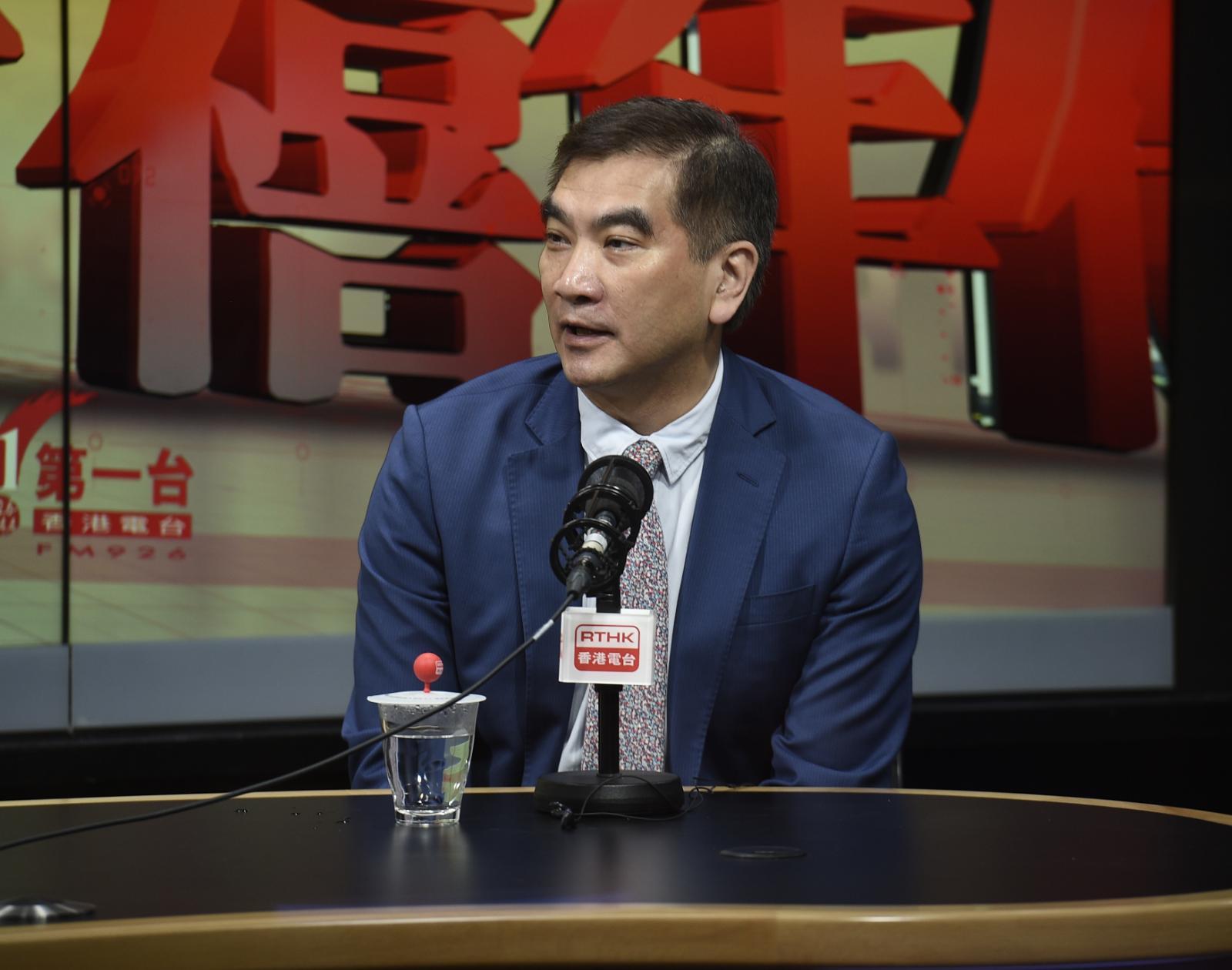 自由黨立法會議員鍾國斌。