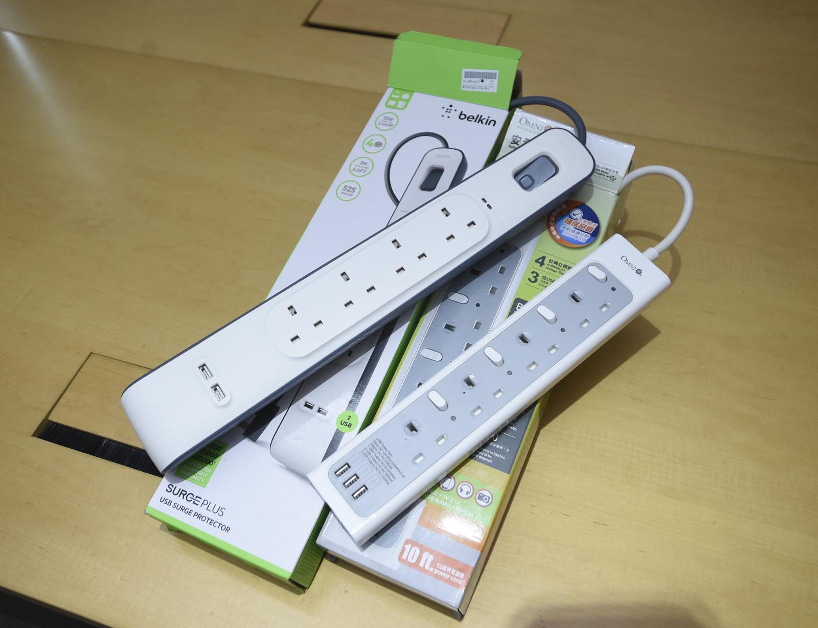 消委會:15款USB充電拖板僅兩款合格 「Ldnio」無保險絲須回收