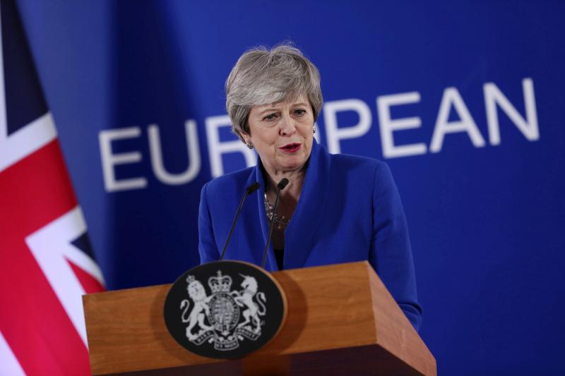 文翠珊政府將在6月公布另一項立法草案,推動英國脫歐。AP