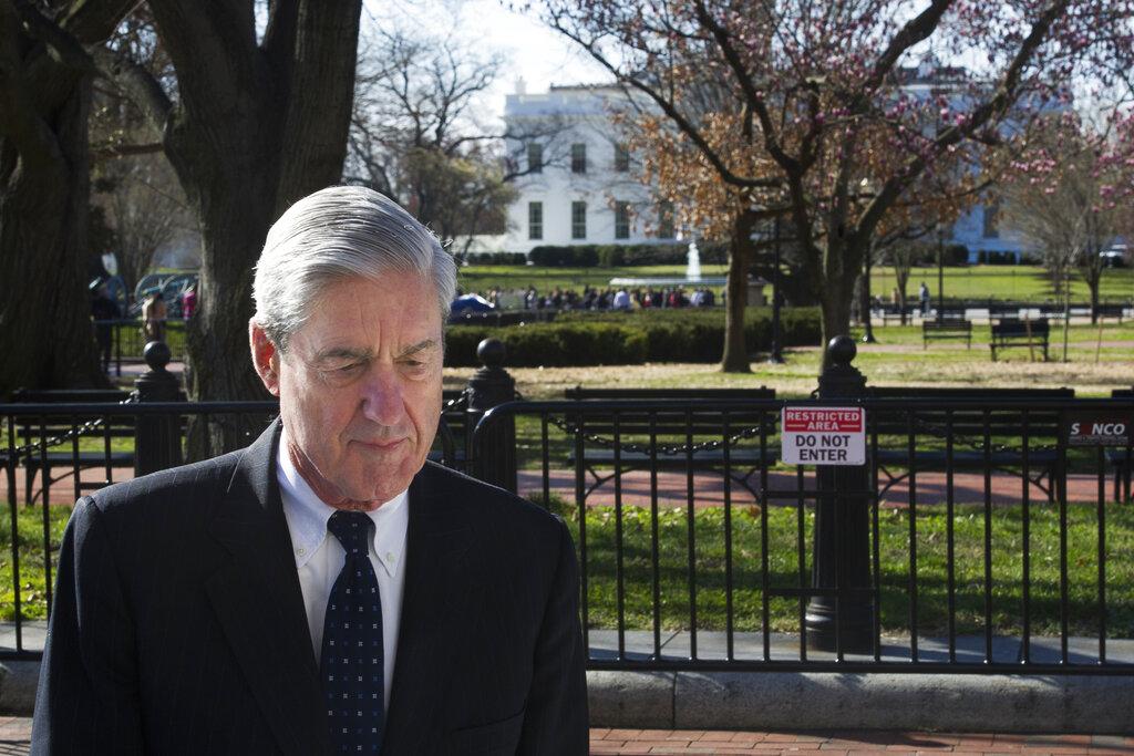 米勒已於月前向司法部提交了完整的調查報告,指沒有實質證據證明特朗普競選團隊私通俄羅斯干預美國大選。   AP圖片
