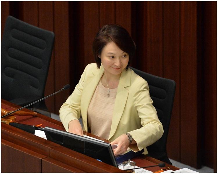內會主席李慧琼。 資料圖片