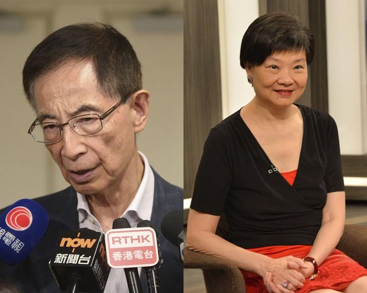 李柱銘、余若薇等12名大律會公會現任和前任主席發表聯署聲明。資料圖片