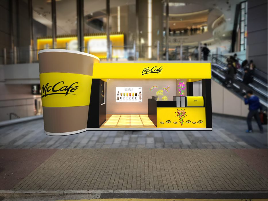 McCafé 二十週年Pop-up Store