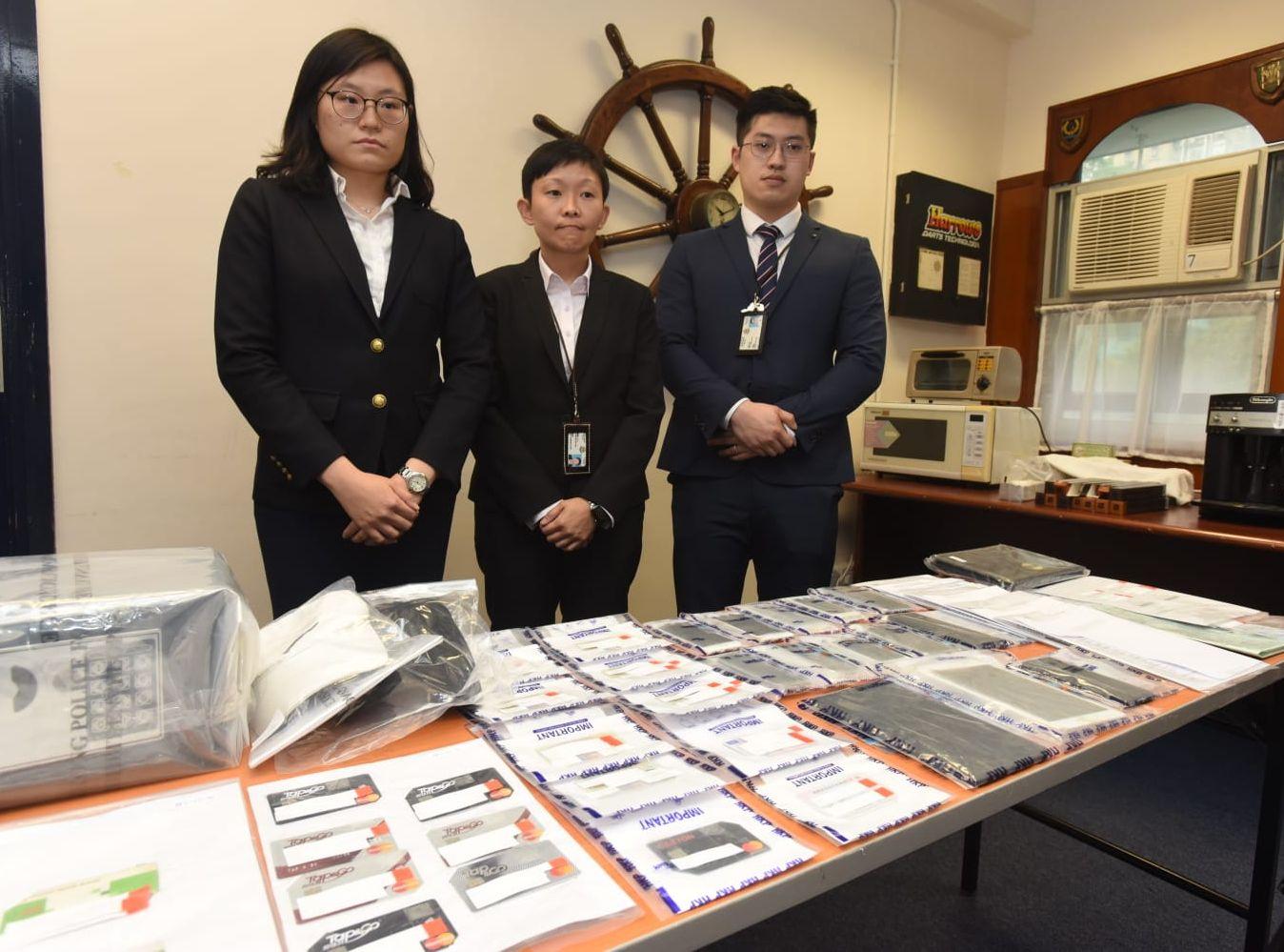 警方瓦解一個由香港人及南亞裔人士合作的盜竊及信用卡詐騙集團。