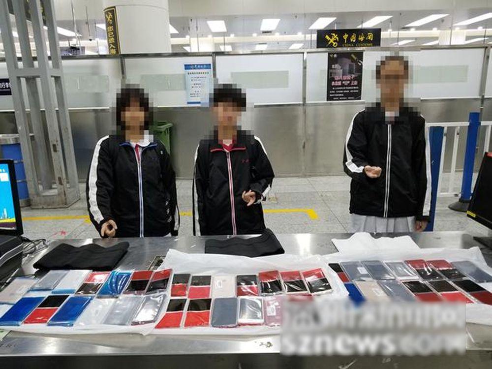 三本港初中女生偷運39部iPhone 被深圳海關拘捕